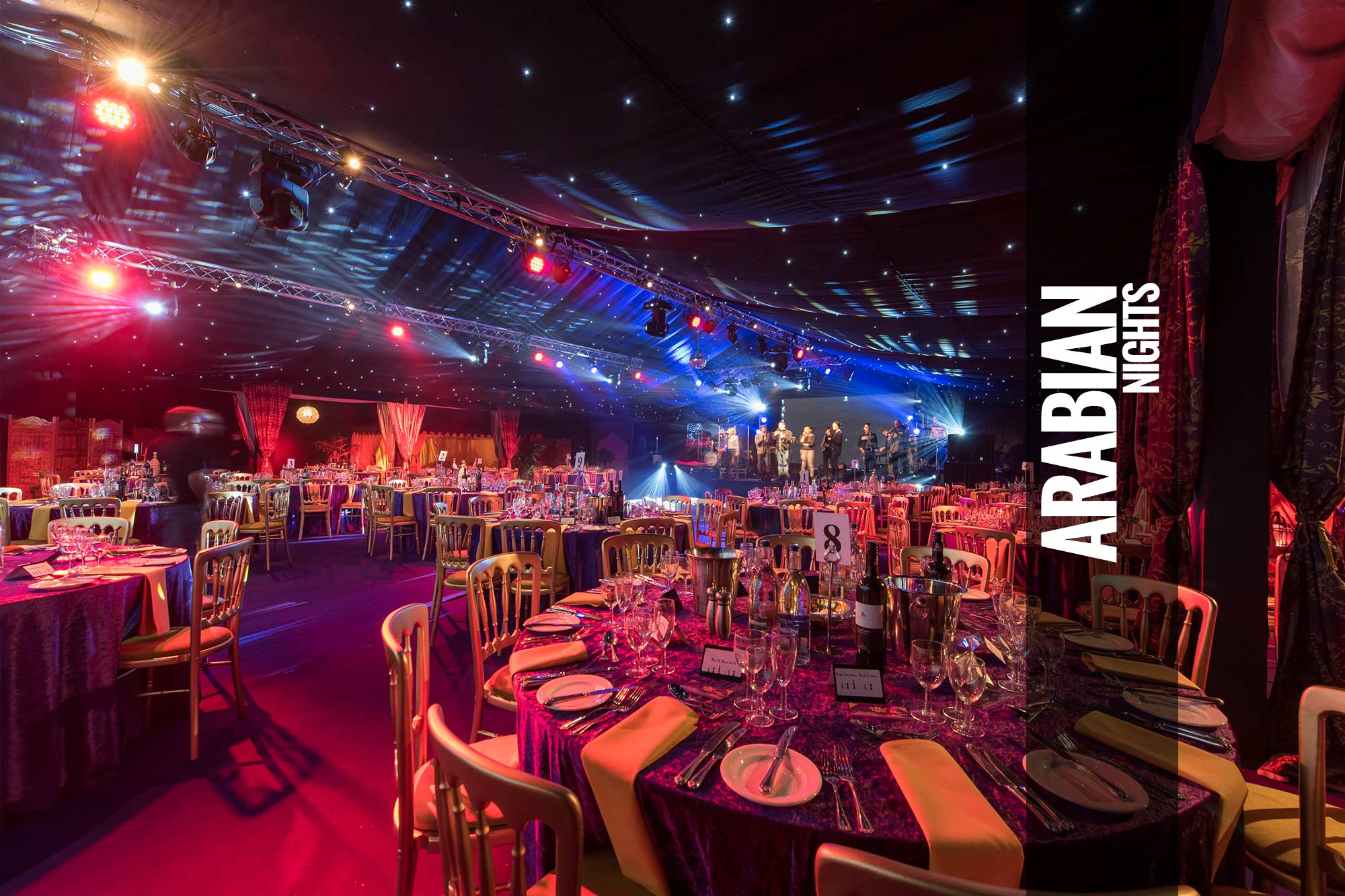 Arabian Nights Party Themed Events