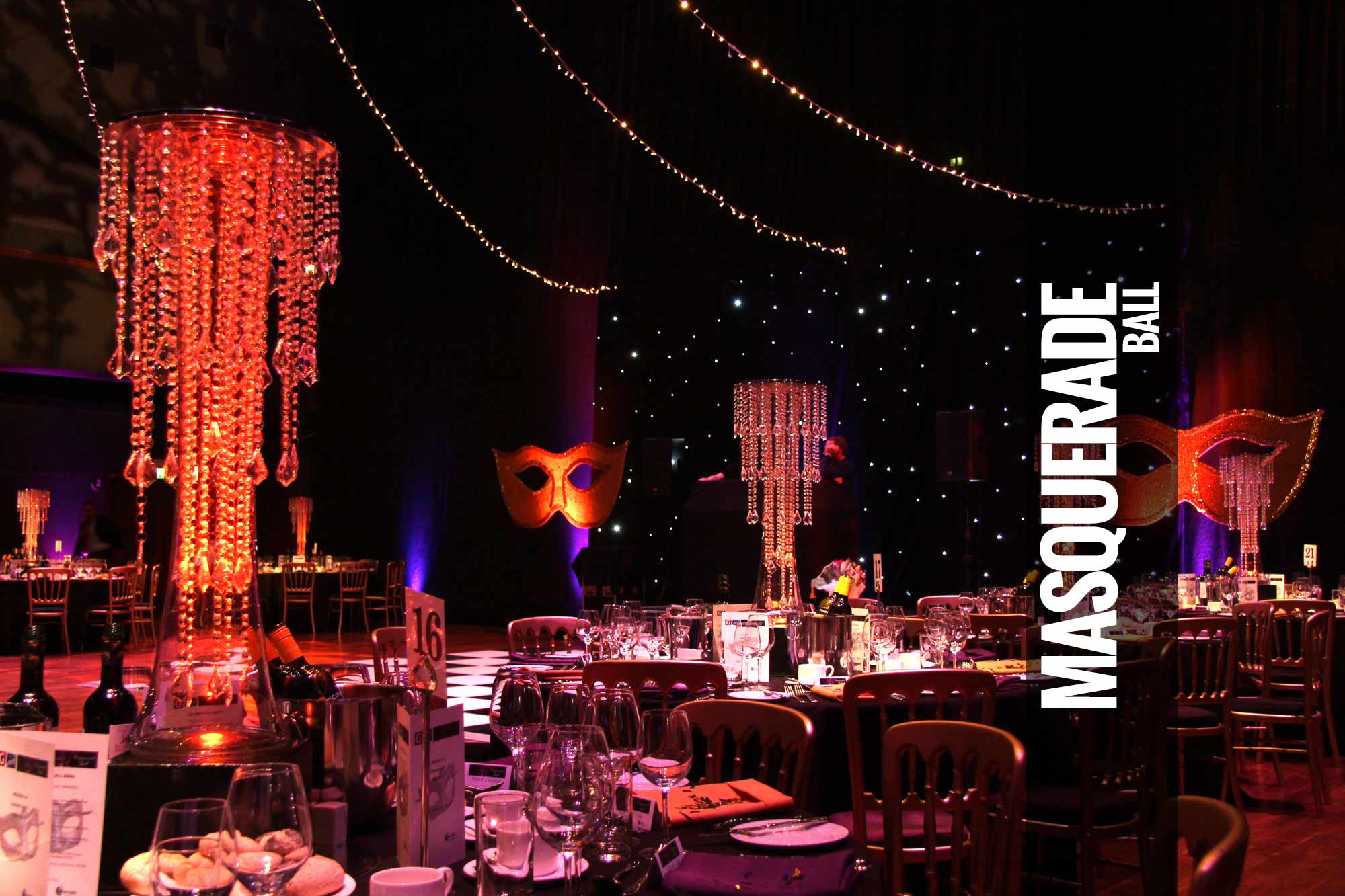 Masquerade Ball Themed Events