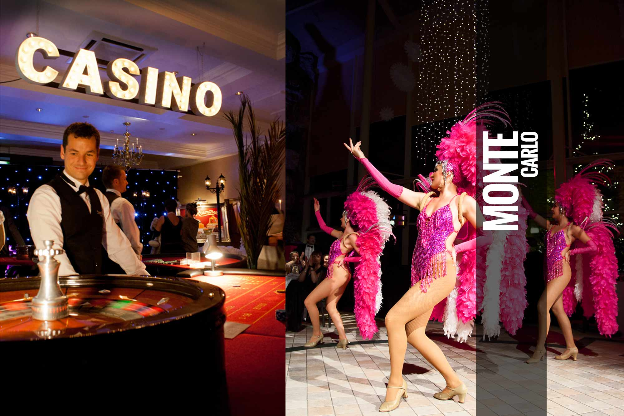 Monte Carlo Themed Events