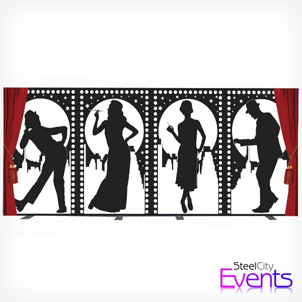 1920's Printed Backdrop