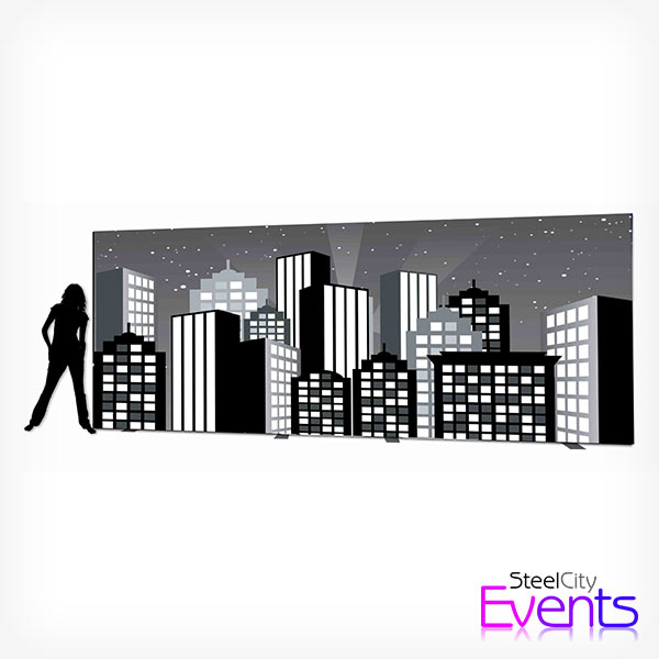 Art Deco City Scape Backdrop