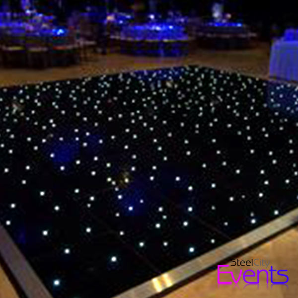 Black Star Light Dance Floor