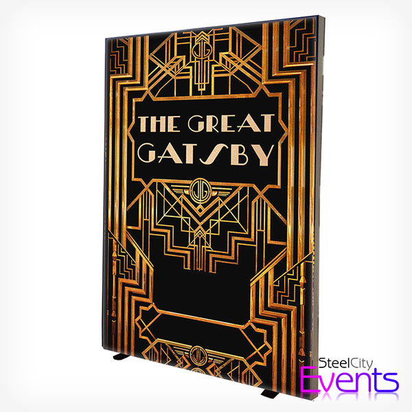 Illuminated Gatsby Light Box