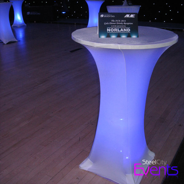 Illuminated Poseur Table