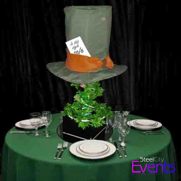 Mad Hatter's Hat Table Centre
