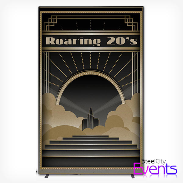Roaring 20's Feature Backdrop