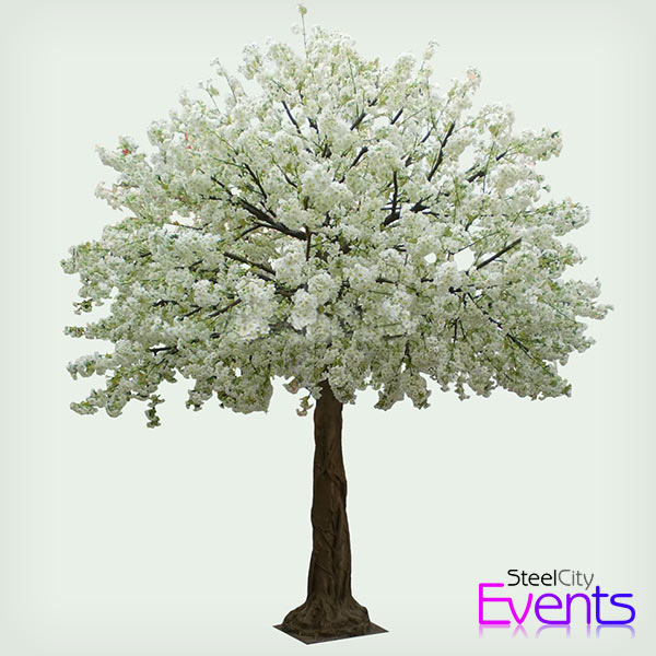 White Blossom Tree (Artificial)